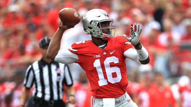 J.T. Barrett named Ohio State's starting QB against Rutgers - IMAGE