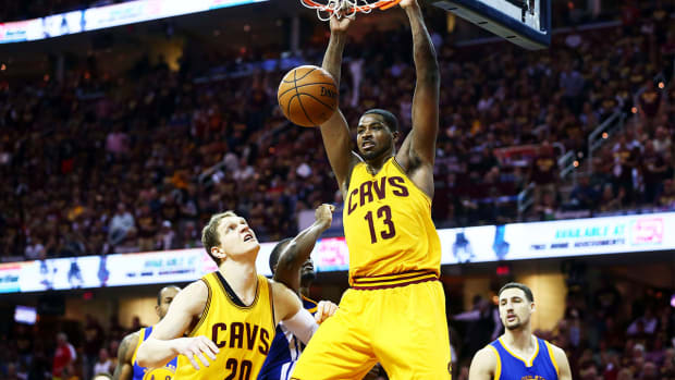 Report: Tristan Thompson holdout may go into regular season - IMAGE