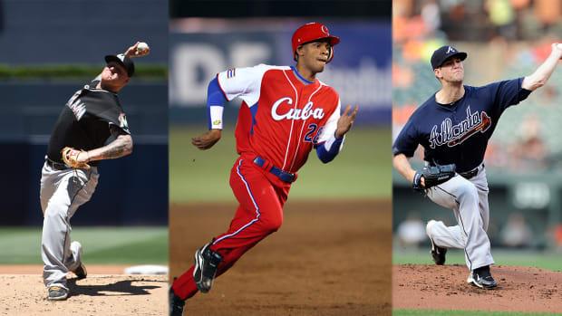Dodgers land Alex Wood, Mat Latos in 13-player trade IMAGE