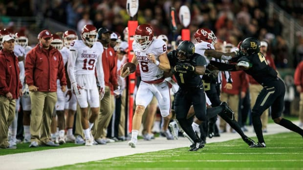 Oklahoma ascending: Can the Sooners' late-season surge produce a playoff berth? Punt, Pass & Pork
