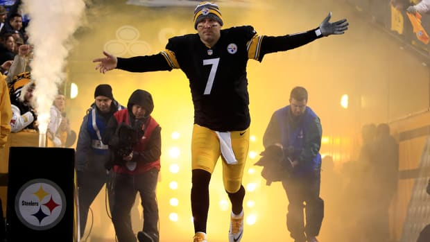 Pittsburgh Steelers QB Ben Roethlisberger preparing to start Sunday - IMAGE