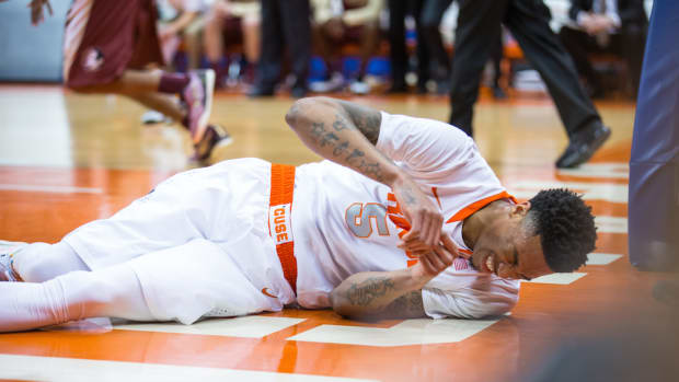 Chris McCullough syracuse orange torn acl