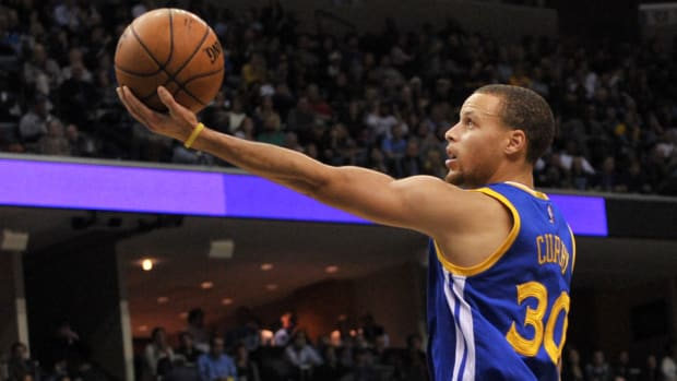Stephen Curry Warriors guard