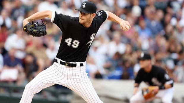Blue Jays snap Chris Sale's streak of 10-strikeout games at eight-- IMAGE