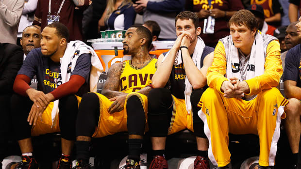 Kevin Love addresses being on the bench during 'crunch time'-image