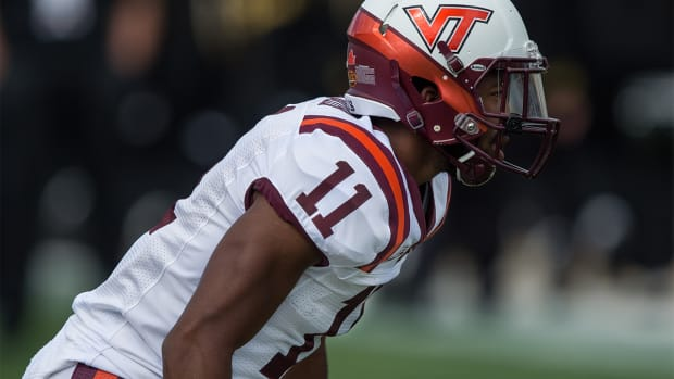 Virginia Tech CB Kendall Fuller (knee) out for season IMAGE