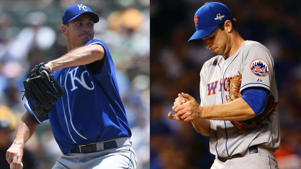 Which pitcher has the upper hand in Game 4? IMAGE