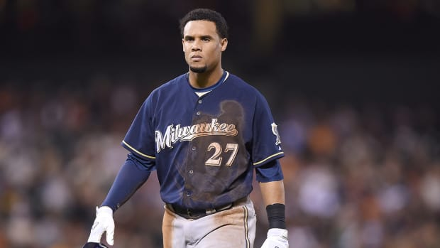 Brewers trade Carlos Gomez, Mike Fiers to Astros IMAGE