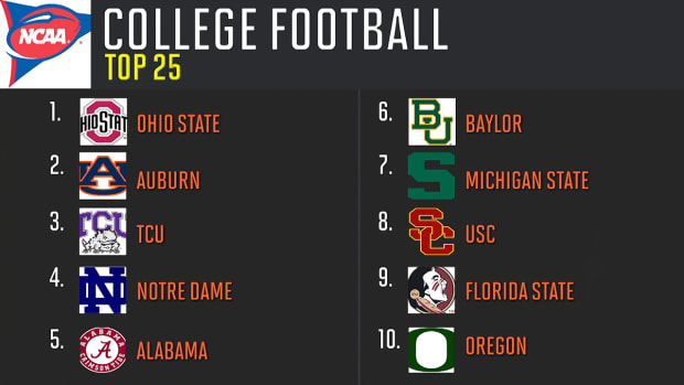 SI reveals 2015 preseason college football Top 25 - IMAGE