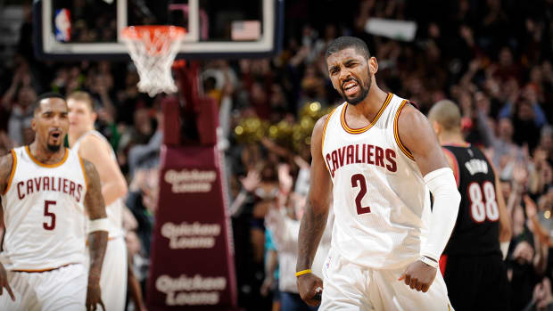 Kyrie Irving scores career-high 55 points IMAGE