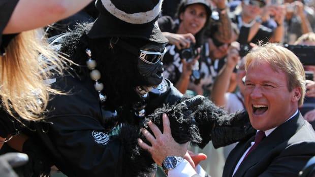 Jon Gruden calls Raiders' return to Los Angeles 'inevitable'--IMAGE