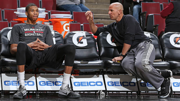 Milwaukee Bucks Giannis Antetokounmpo Jason Kidd relationship IMG