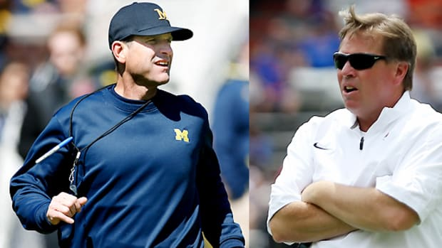 jim-harbaugh-mcelwain-first-year-expectiations-michigan-florida-football.jpg