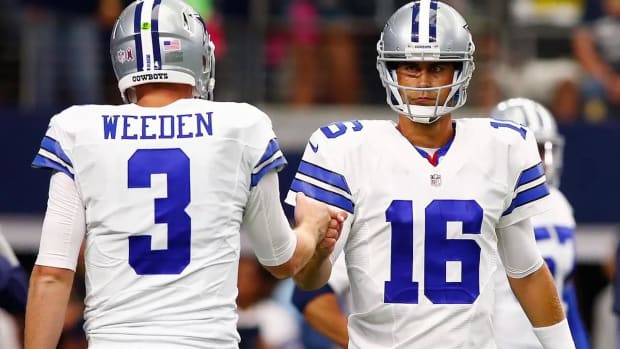 Brandon Weeden on Cowboys QB demotion: 'I'm pissed' - IMAGE