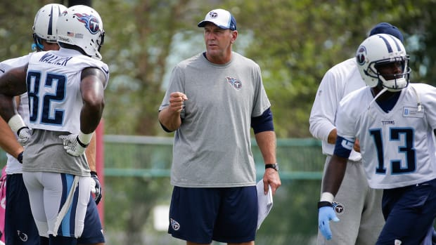 Titans deny Buccaneers request to interview Mike Mularkey
