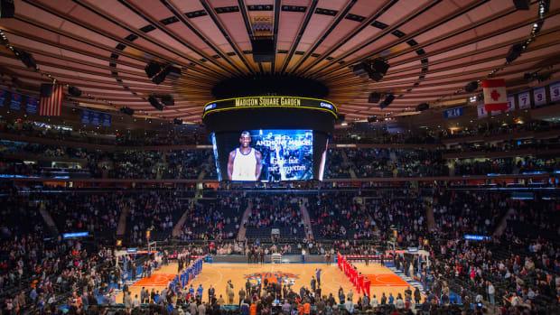 anthony mason new york knicks tribute