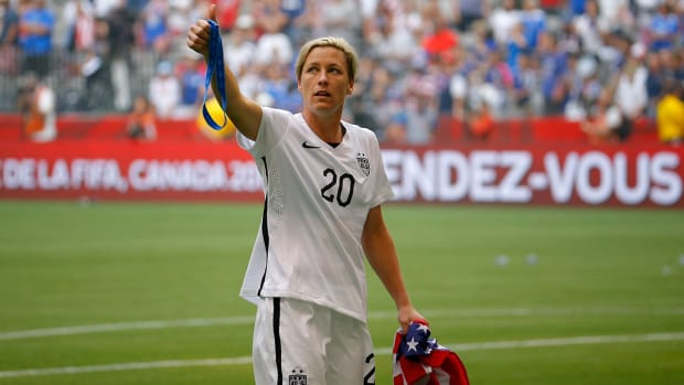 U.S. women's national team forward Abby Wambach announces retirement--IMAGE