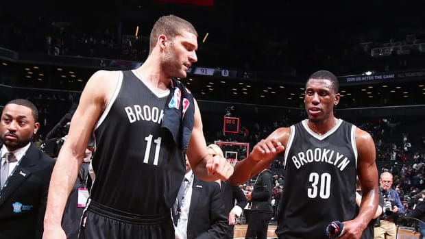 Nets re-sign Brook Lopez, Thaddeus Young-- IMAGE