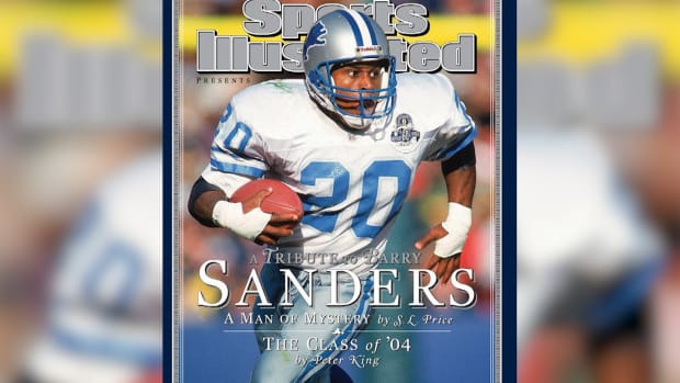 Photo Reflections: Barry Sanders IMG