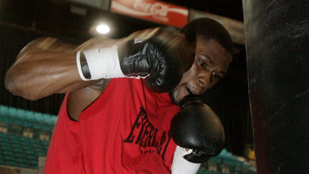 Jermain Taylor arrested and charged with 8 felonies