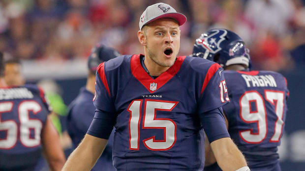 Texans release quarterback Ryan Mallett