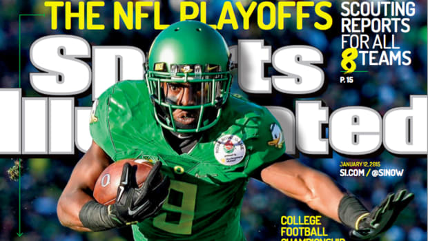Oregon and the College Football Championship featured on SI cover