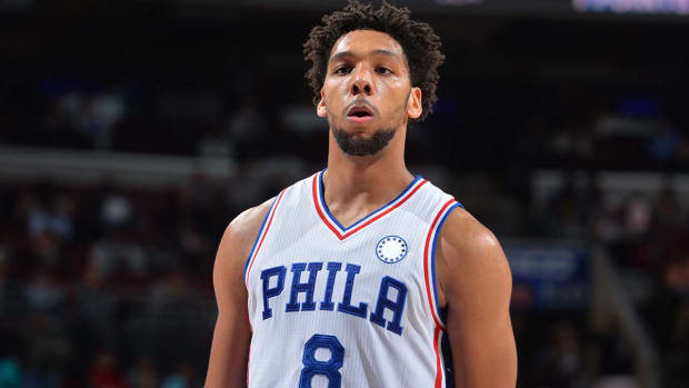 Report: 76ers rookie Jahlil Okafor to be accompanied by security guard IMAGE