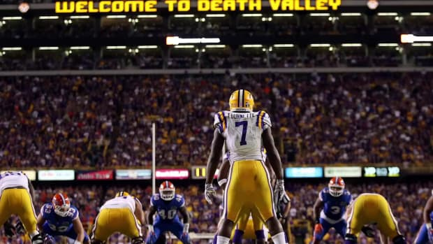 Report: LSU RB Leonard Fournette's family may have violated NCAA rules -- IMAGE