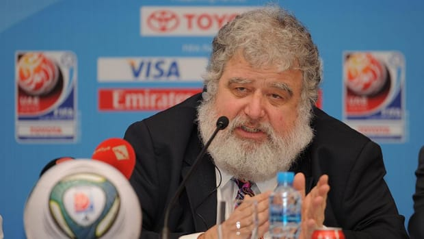 FIFA bans ex-official Chuck Blazer for life for bribery, corruption--IMAGE
