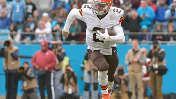 cleveland browns johnny manziel support karlos dansby joe haden