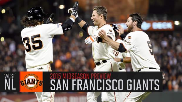 San Francisco Giants 2015 midseason preview IMAGE