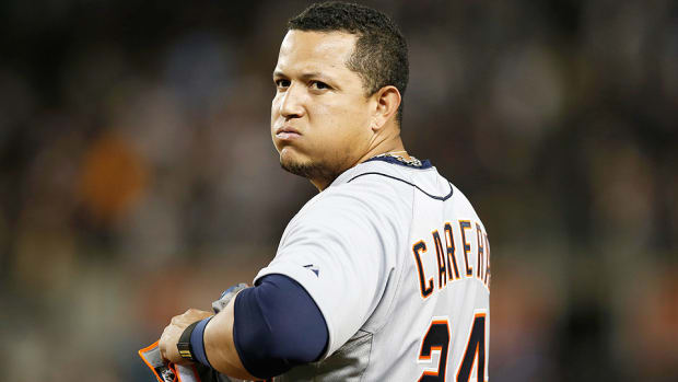 Miguel Cabrera Tigers ankle injury