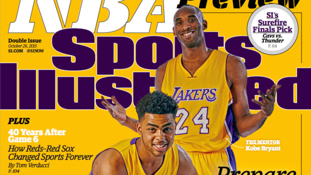 2015-16 NBA preview lands cover of Sports Illustrated - IMAGE