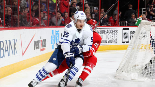 Korbinian Holzer toronto maple leafs trade