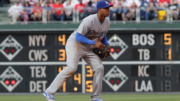 LA Dodgers have sent infielder Erisbel Arruebarrena to AAA Oklahoma City