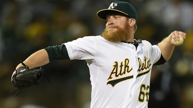 A's pitcher told his dog needs a résumé in order to rent an apartment