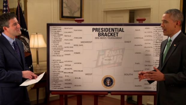 President Obama makes his NCAA tournament picks