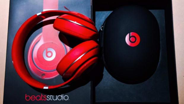 LeBron James Beats by Dre Headphones Ohio State