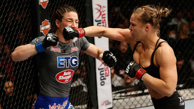 Ronda Rousey talks women fighting men: 'It seems extremely comparable at this point'-image