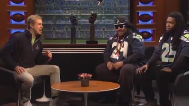 Richard Sherman, Marshawn Lynch headline SNL Super Bowl spoof - IMAGE