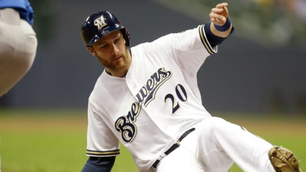 Milwaukee Brewers Jonathan Lucroy is going to the State of the Union