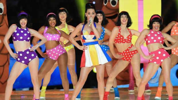 Katy Perry got a Super Bowl Tattoo
