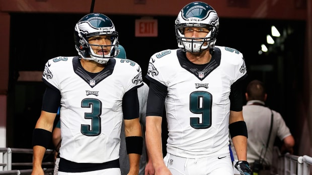 Nick Foles weighs in on the QB competition in Philadelphia - Image