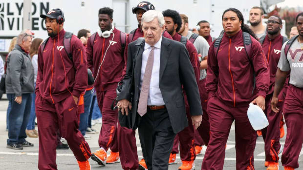 What it's been like to play for legendary Virginia Tech coach Frank Beamer—a privilege and an honor