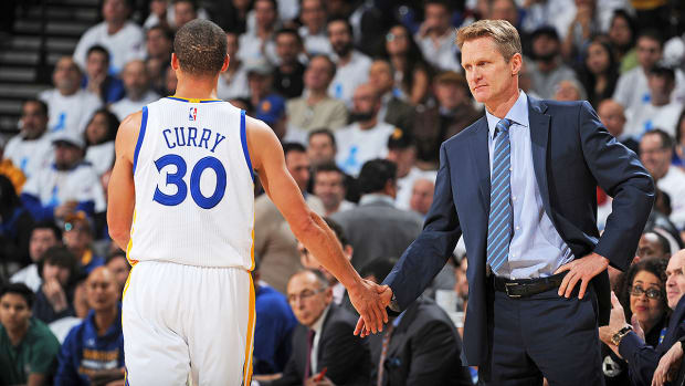 Steph Curry on Steve Kerr's success: 'He can chop it up with the guys' - Image