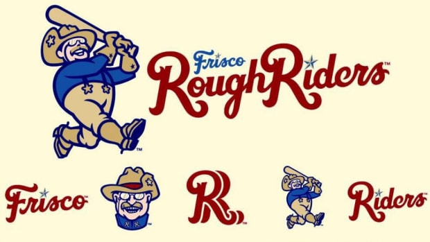 Teddy Roosevelt appears in new minor league logo