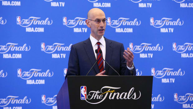 Adam Silver: NBA likely to change playoff seeding structure IMAGE