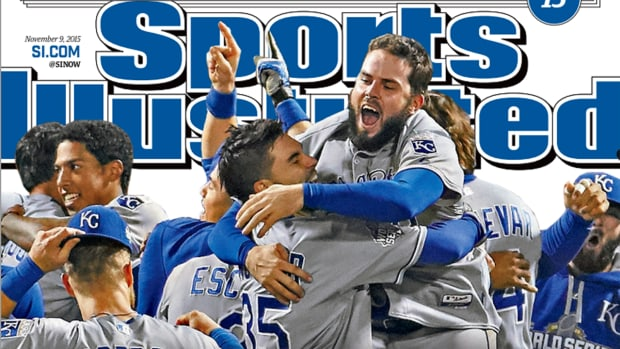 World Series Champion Royals land SI Cover - IMAGE