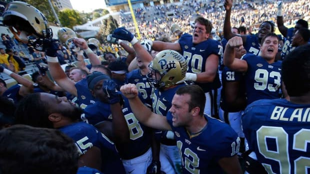 Revival at Pitt: New coach Pat Narduzzi has the Panthers, and their fans, excited once again