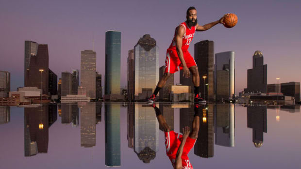 James Harden reflection